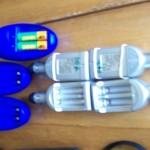 Chargeurs de différents formats pour différentes piles