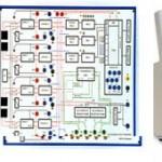 Plate-forme d'autocomutateur pédagogique T2000 / Oscilloscope Agilent Technologies MSOX 3014A